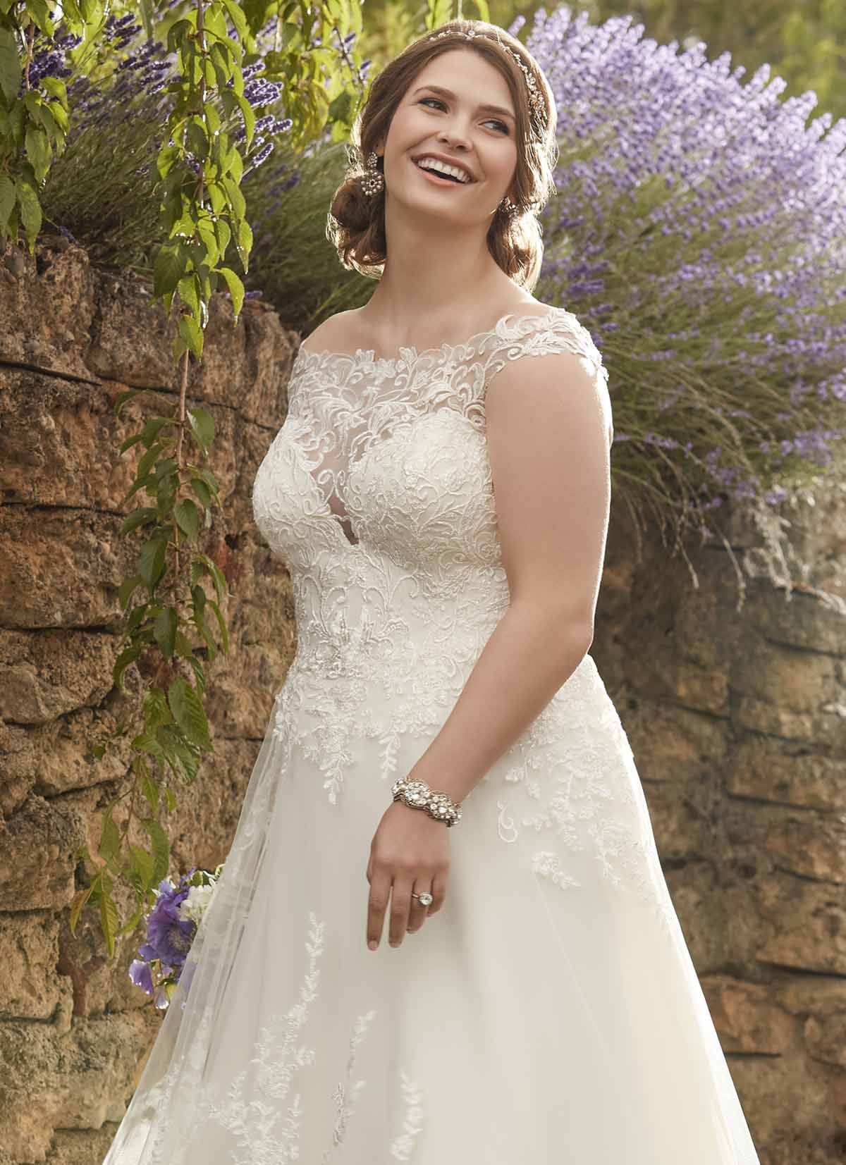 a3bce486a68 Plus Size Wedding Dresses - Twirl